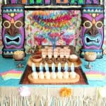 Tiki Mocktail Bar Party