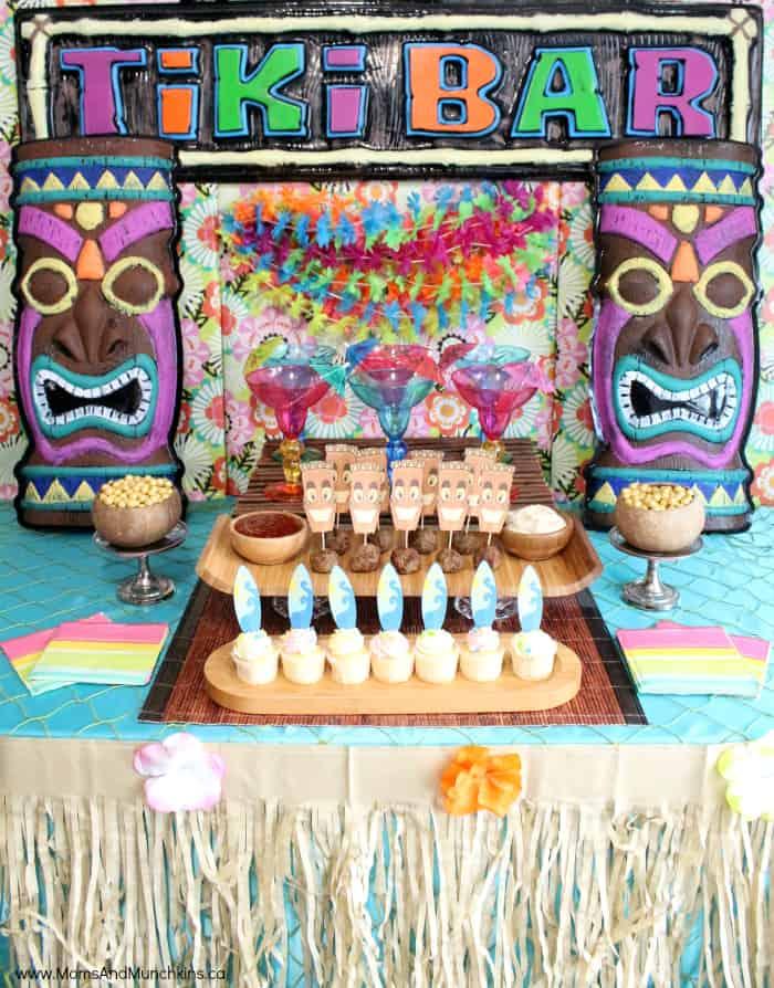 Tiki Mocktail Bar