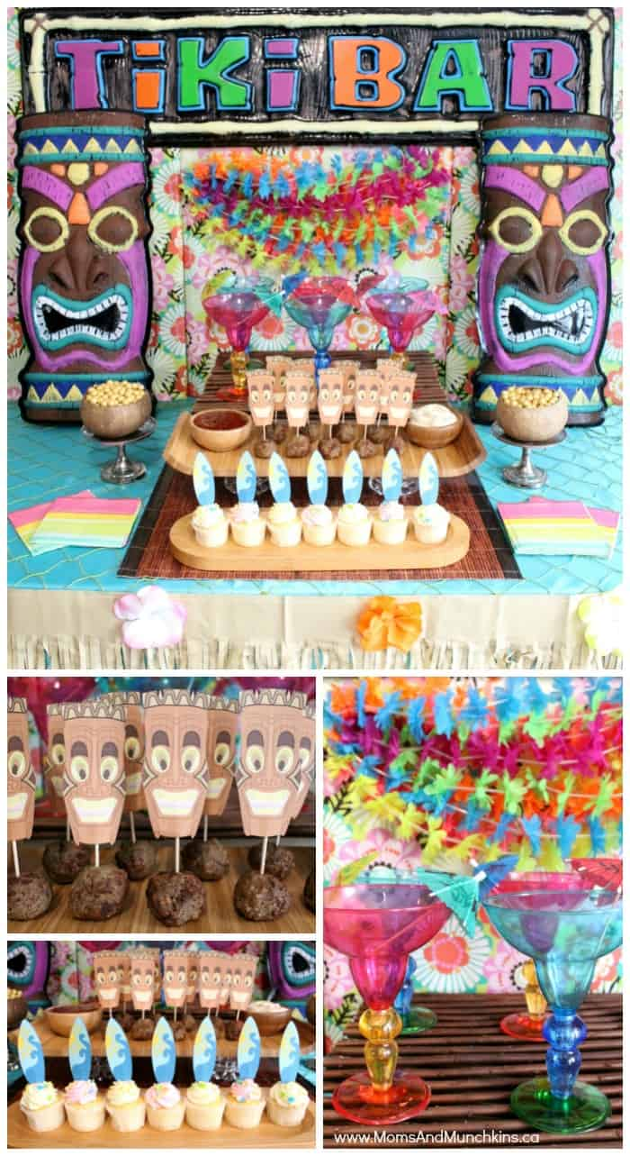 Tiki Mocktail Bar