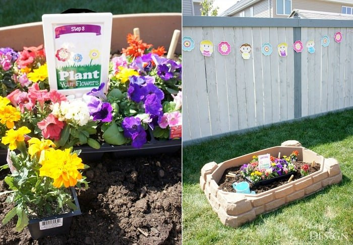 Flowerpot Party Activity For Kids