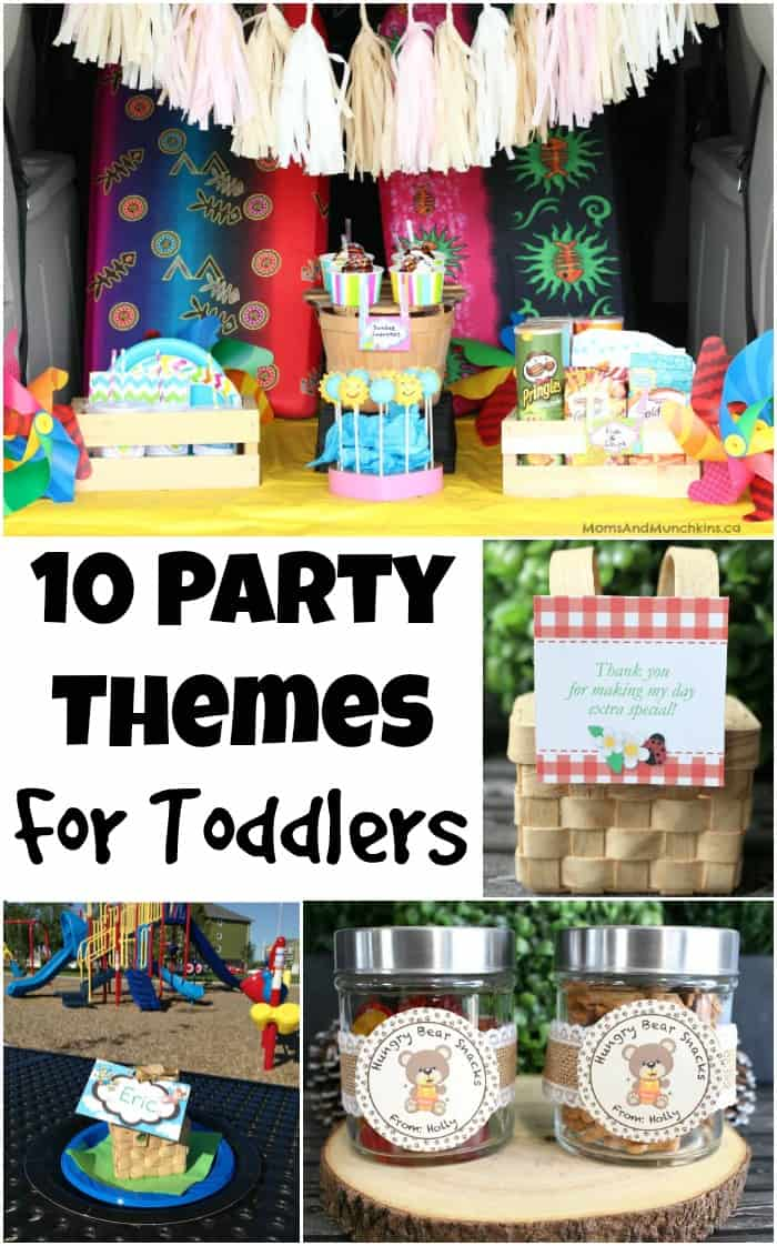 Party Themes for Toddlers