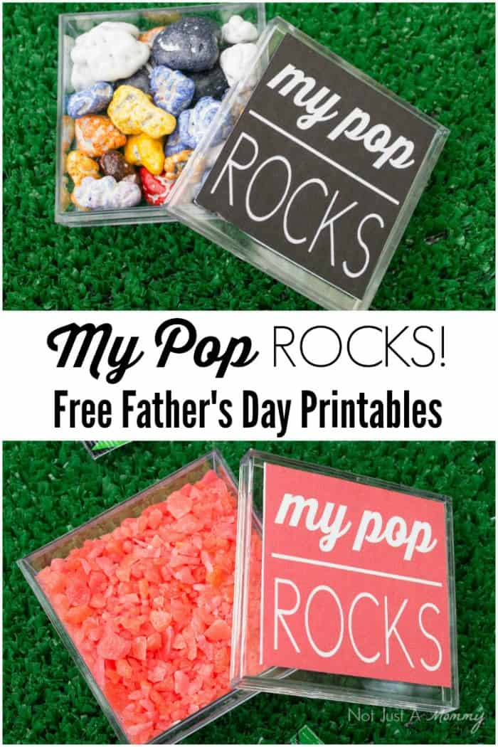 Pop Rocks Father's Day