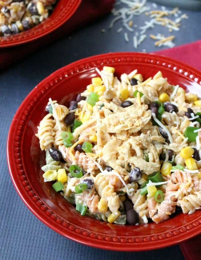 Southwest Chicken Pasta Salad