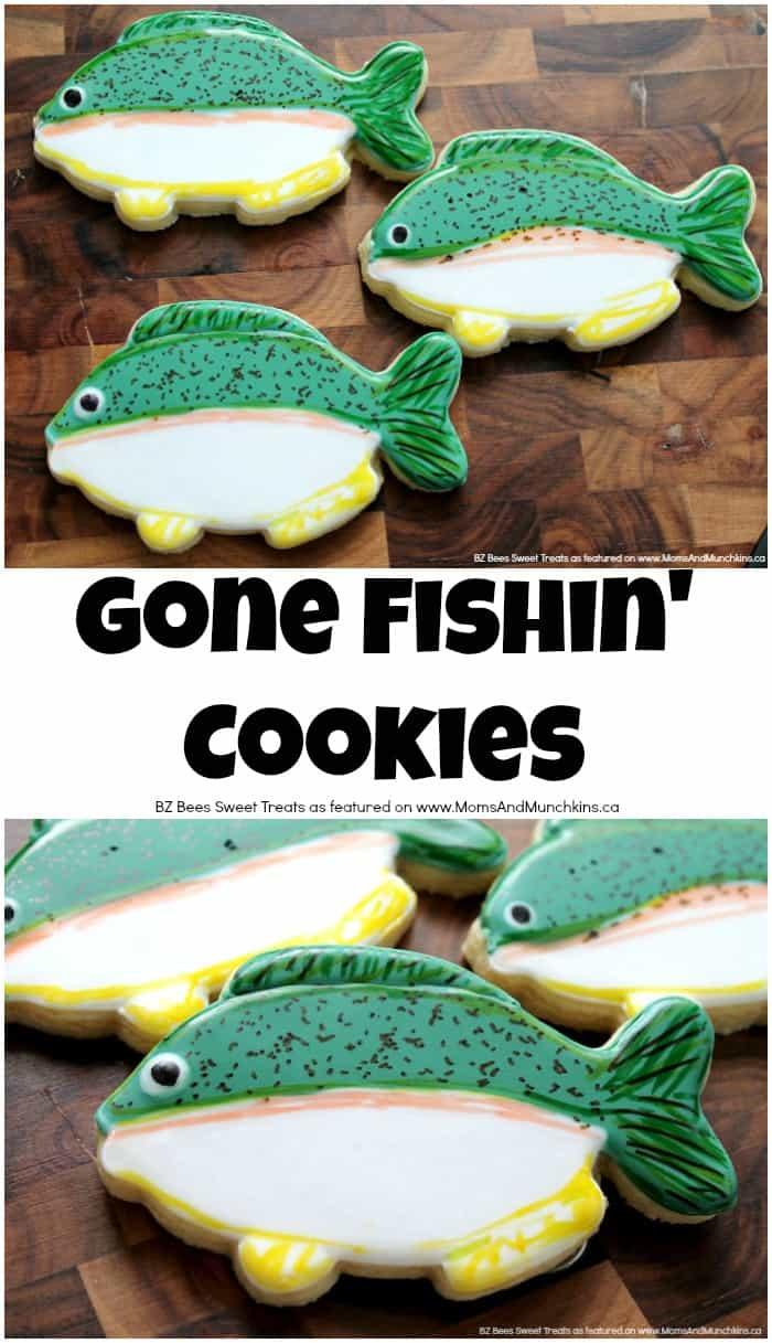Fishing Cookies