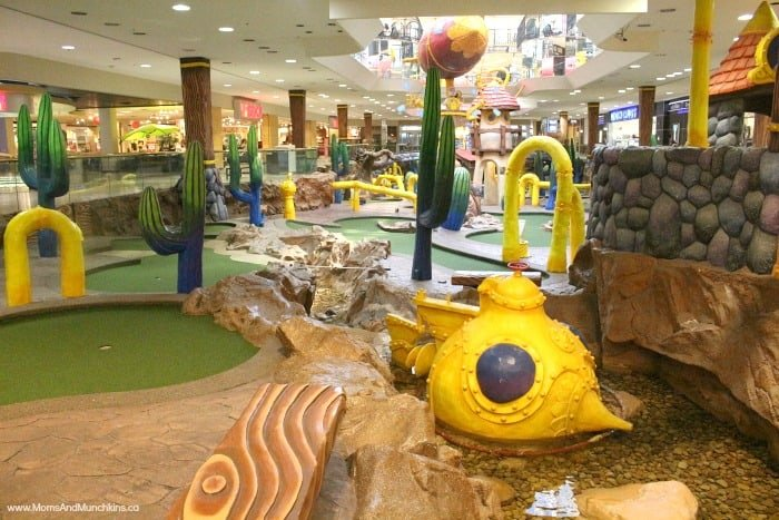 West Edmonton Mall Attractions