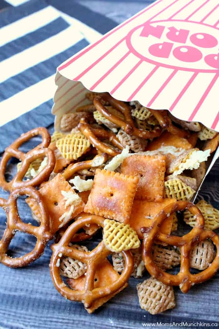 Cheesy Ranch Snack Mix