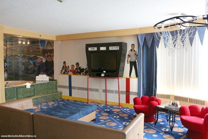 Luxury Theme Sports Room Fantasyland Hotel