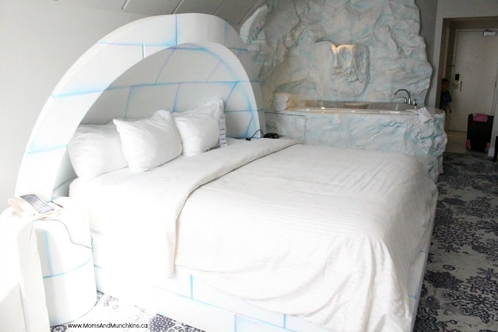 Igloo Room Fantasyland Hotel