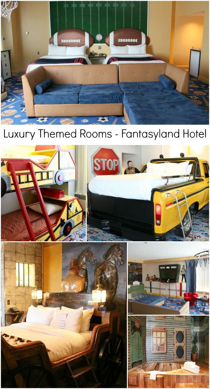 Luxury Themed Rooms Fantasyland Hotel