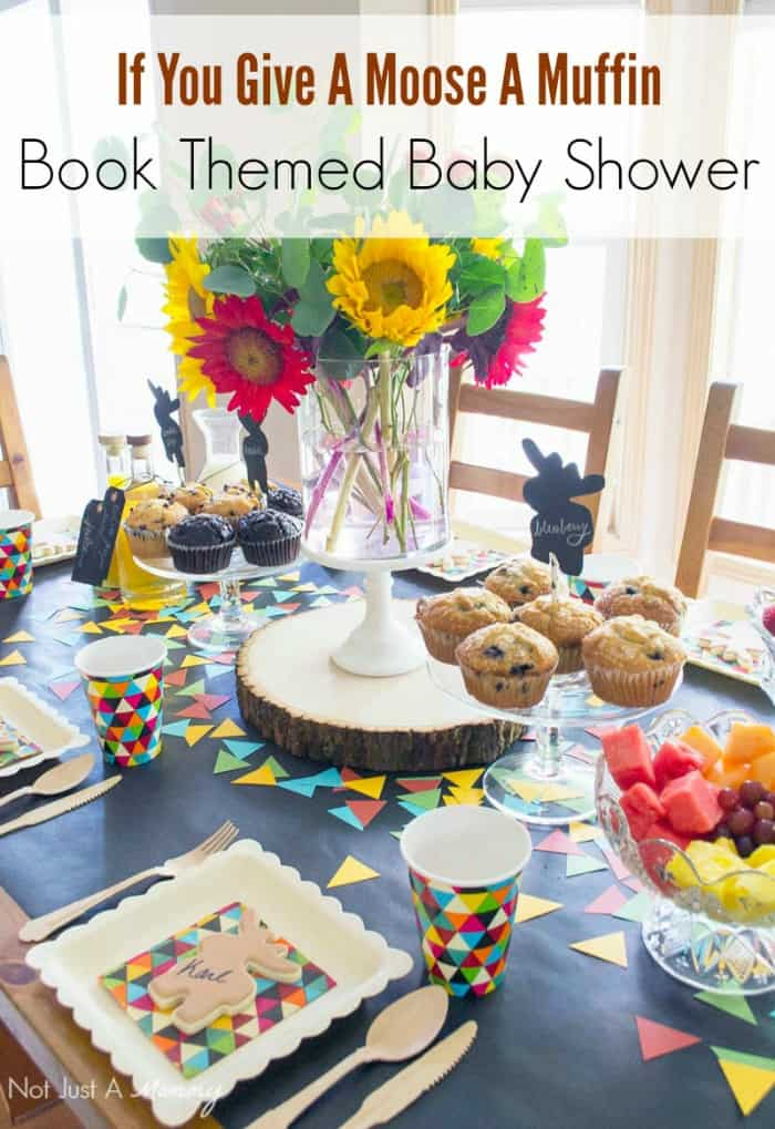 Book Themed Baby Shower Moms Munchkins