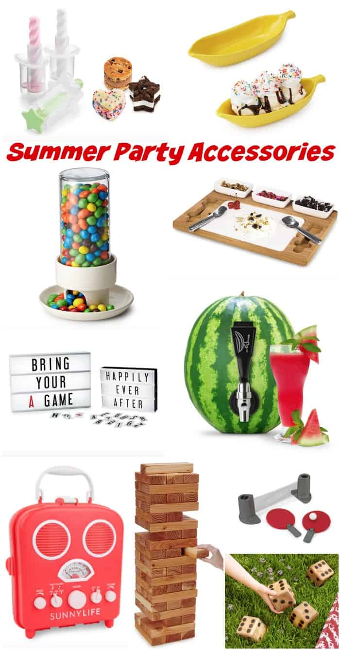Ultimate Summer Party Accessories