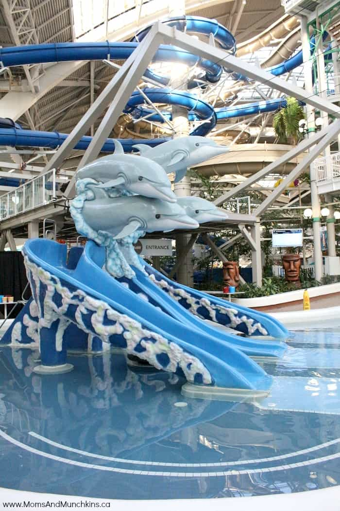 Edmonton: World Waterpark West Edmonton Mall