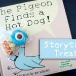 Storytime Inspired Favors: The Pigeon Finds a Hot Dog!