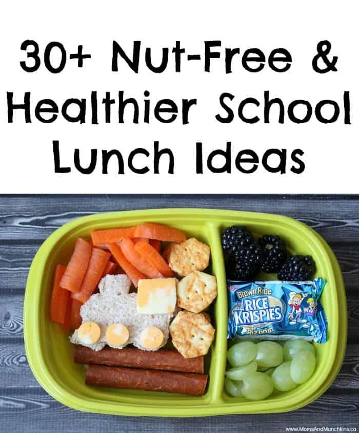 Nut-Free School Lunch Ideas (30+) - Moms & Munchkins