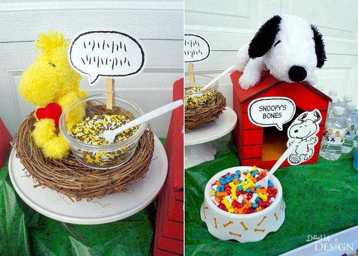 Peanuts Ice Cream Party