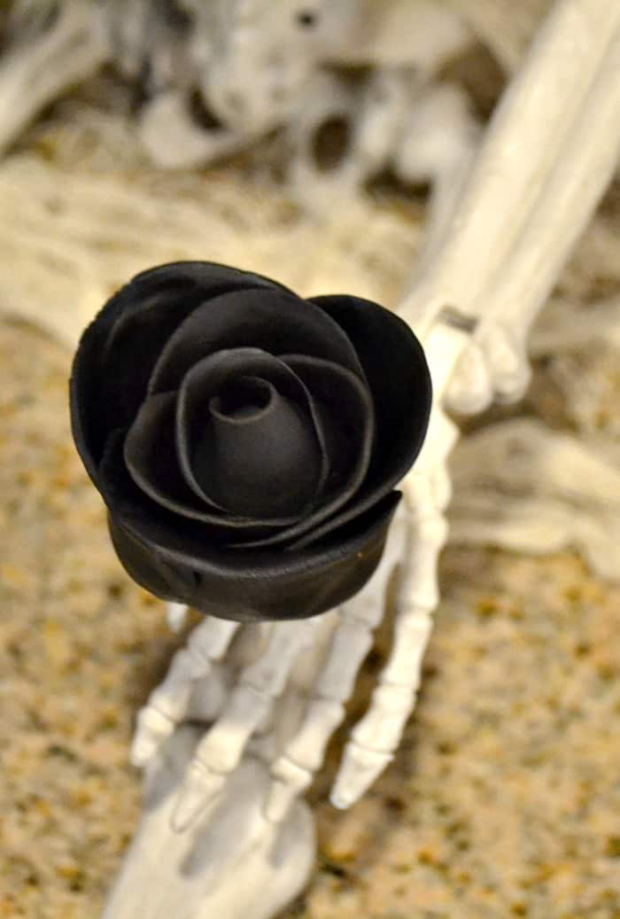Black Rose Cake Pops
