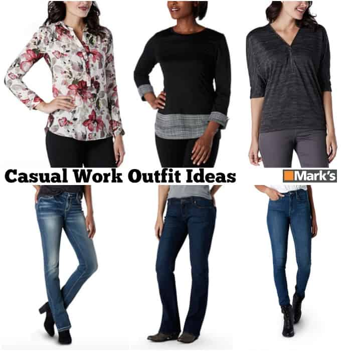 Casual Work Outfits