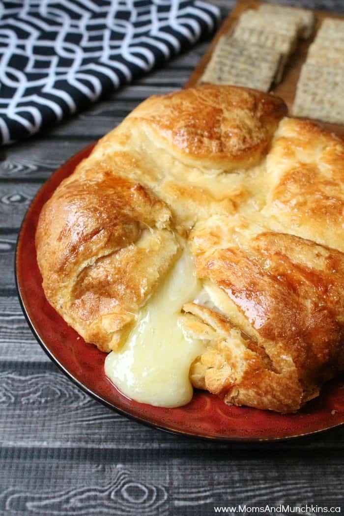 Crescent Wrapped Brie Recipe