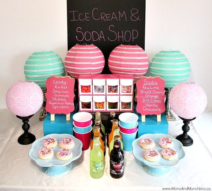 Ice Cream & Soda Shop Party