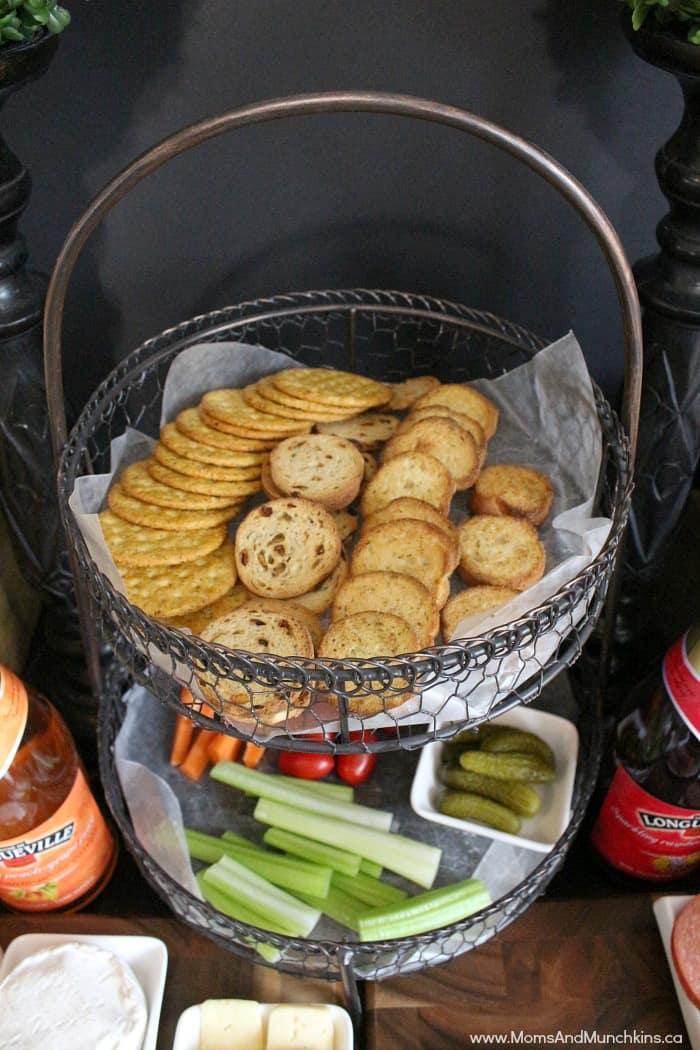 Appetizer Bar Ideas Kid Friendly Options Moms Amp Munchkins