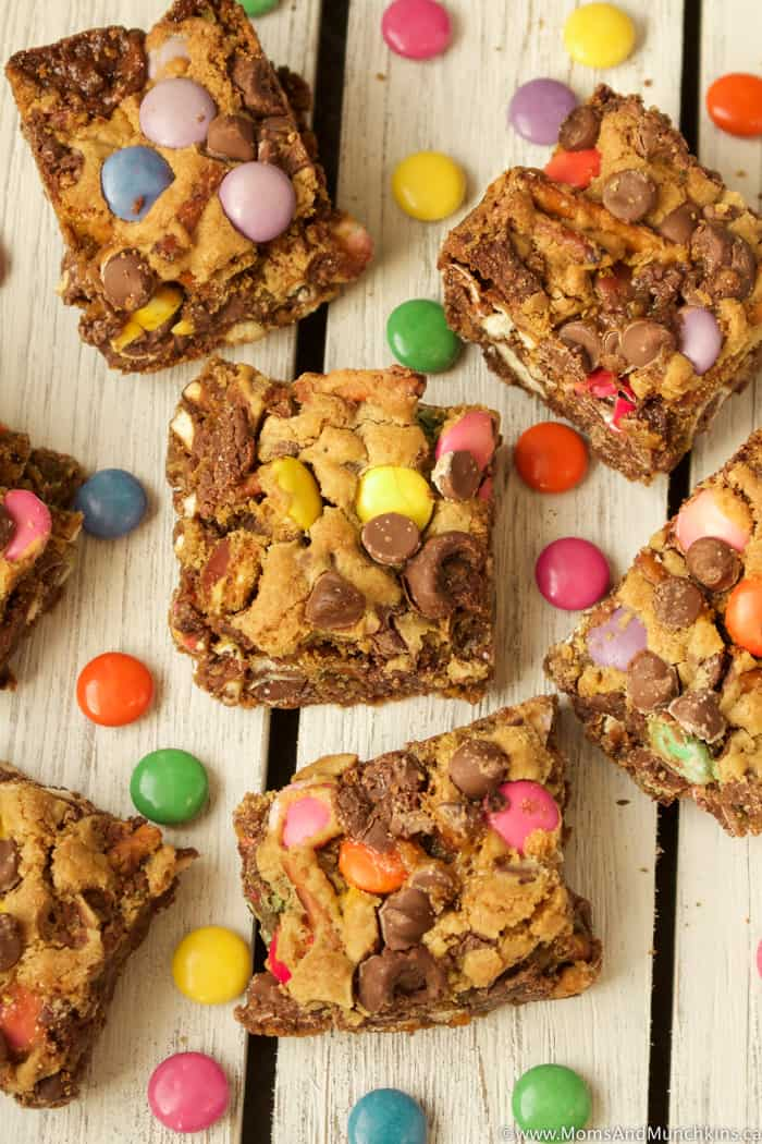 Sweet and Salty Cookie Bars Recipe