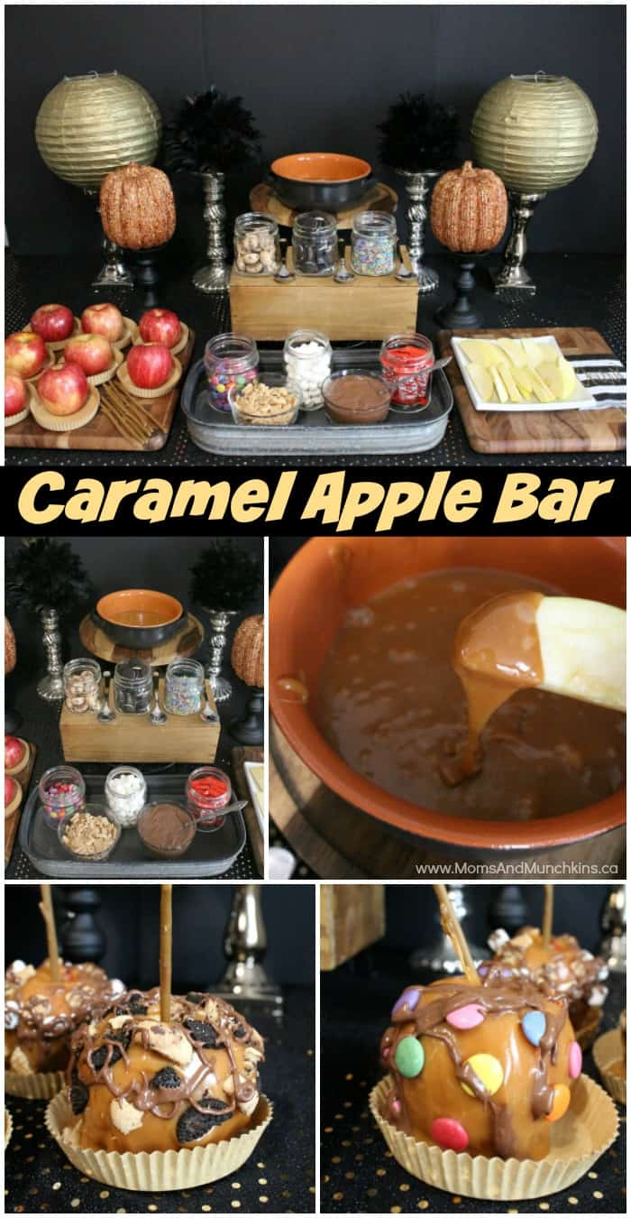 Caramel Apple Buffet