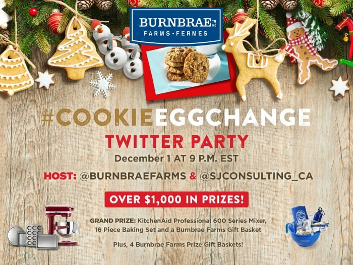 CookieEggChange Twitter Party
