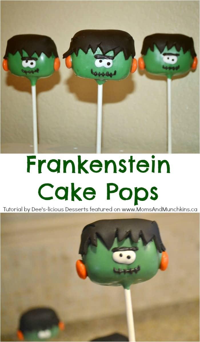Frankenstein Cake Pops