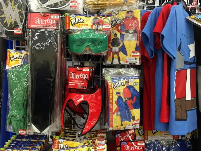 Value Village Costume Shopping