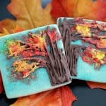 Autumn Tree Cookies Tutorial