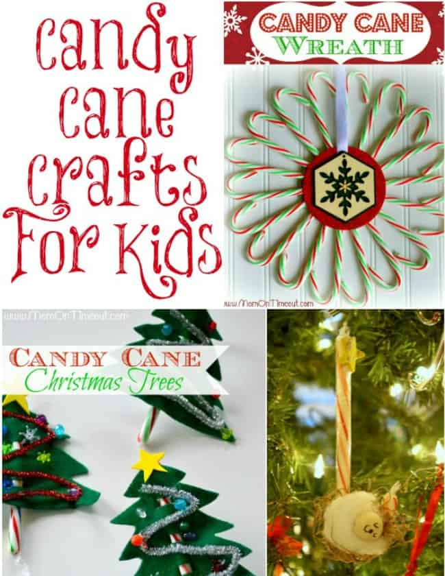 Christmas fun games activities recipes more for Candy cane crafts for adults