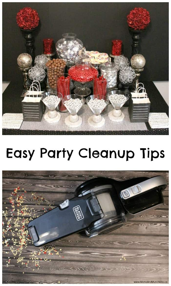 Easy Party Cleanup Tips