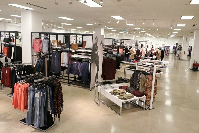 Sears Canada New Store Layout