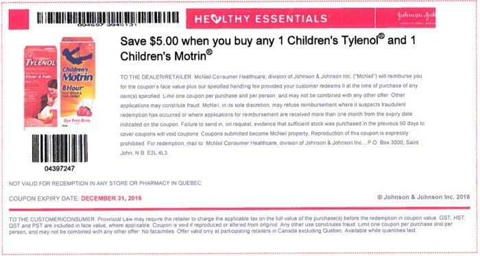 photograph relating to Tylenol Printable Coupon known as Little one tylenol coupon canada : Honda pilot hire bargains nj