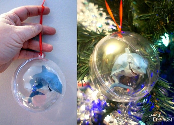 Finding Dory DIY Tree Ornaments