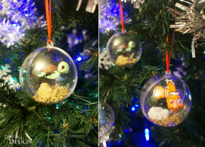 finding dory diy tree ornaments - Finding Nemo Christmas Decorations