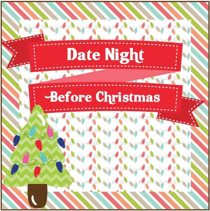 Date Night Before Christmas Box - Free Printable Tag