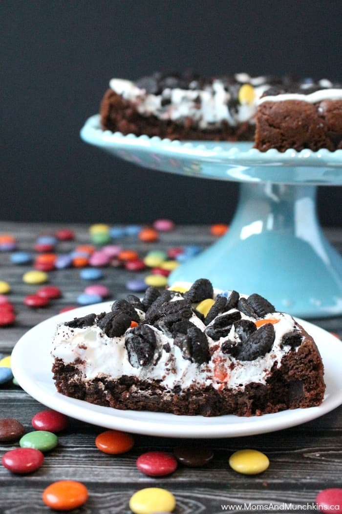 Marshmallow Cookie Cake Recipe