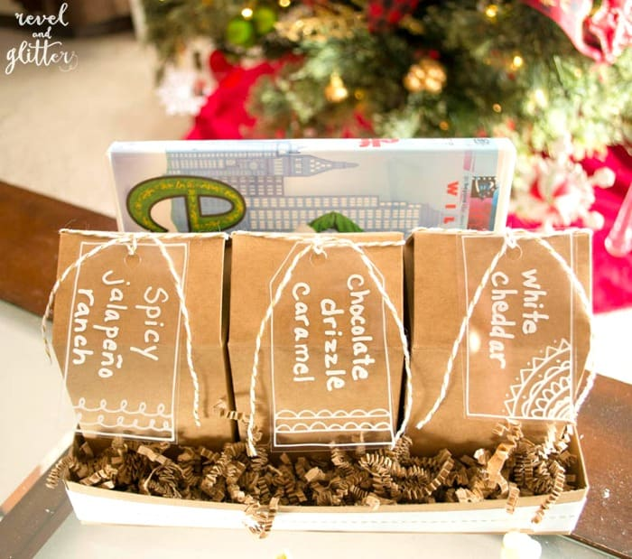 Movie and Popcorn Christmas Gift Box