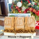 Movie + Popcorn Christmas Gift Box
