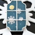 Snowy Window Cookies Tutorial