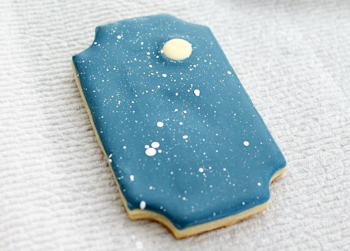 Snowy Window Cookies Tutorial