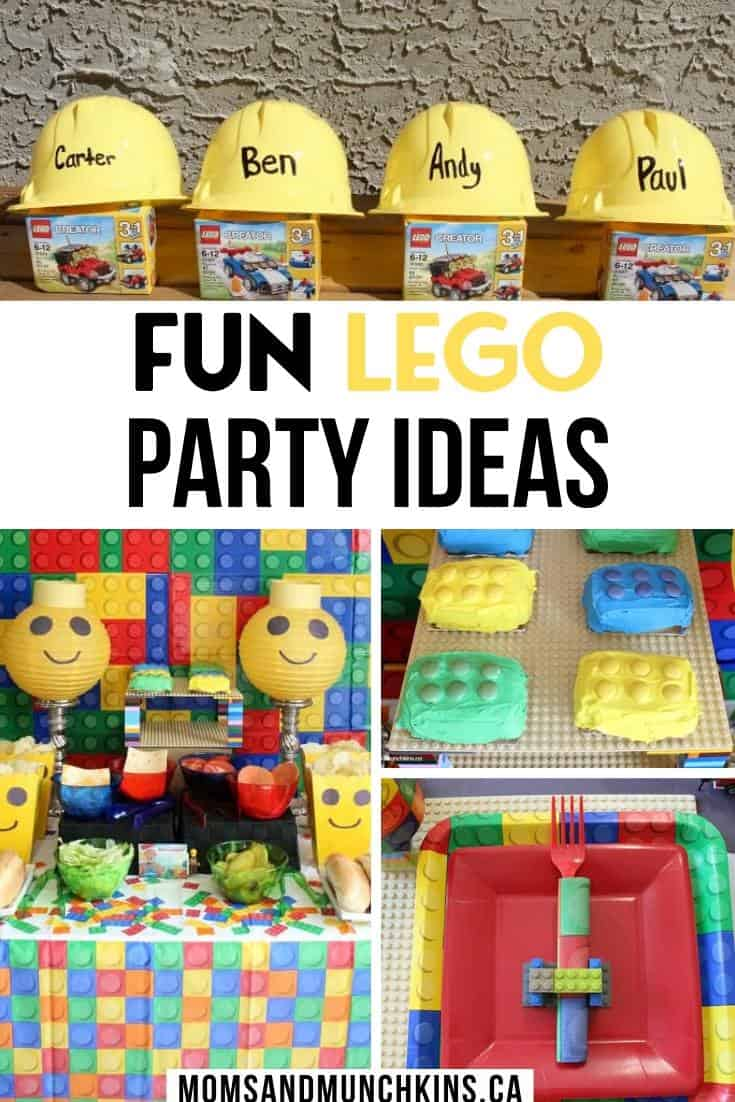 lego party ideas pin