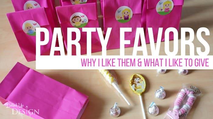 Party Favor Ideas