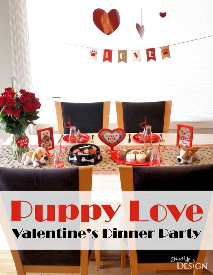 Valentines day ideas parties activities freebies and more for Valentine dinner party ideas