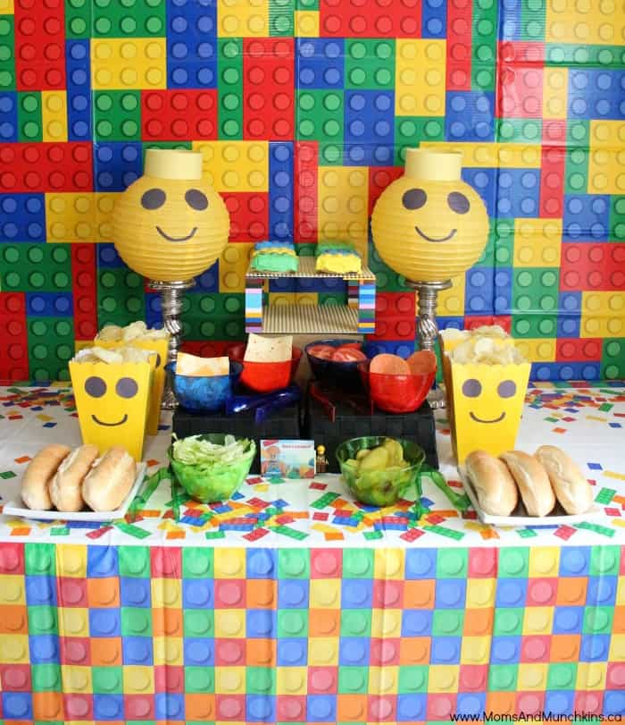 Lego Party Ideas, DIY Projects And Supplies