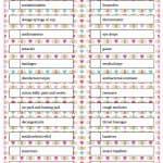 Medicine Cabinet Essentials - Free Printable Checklist