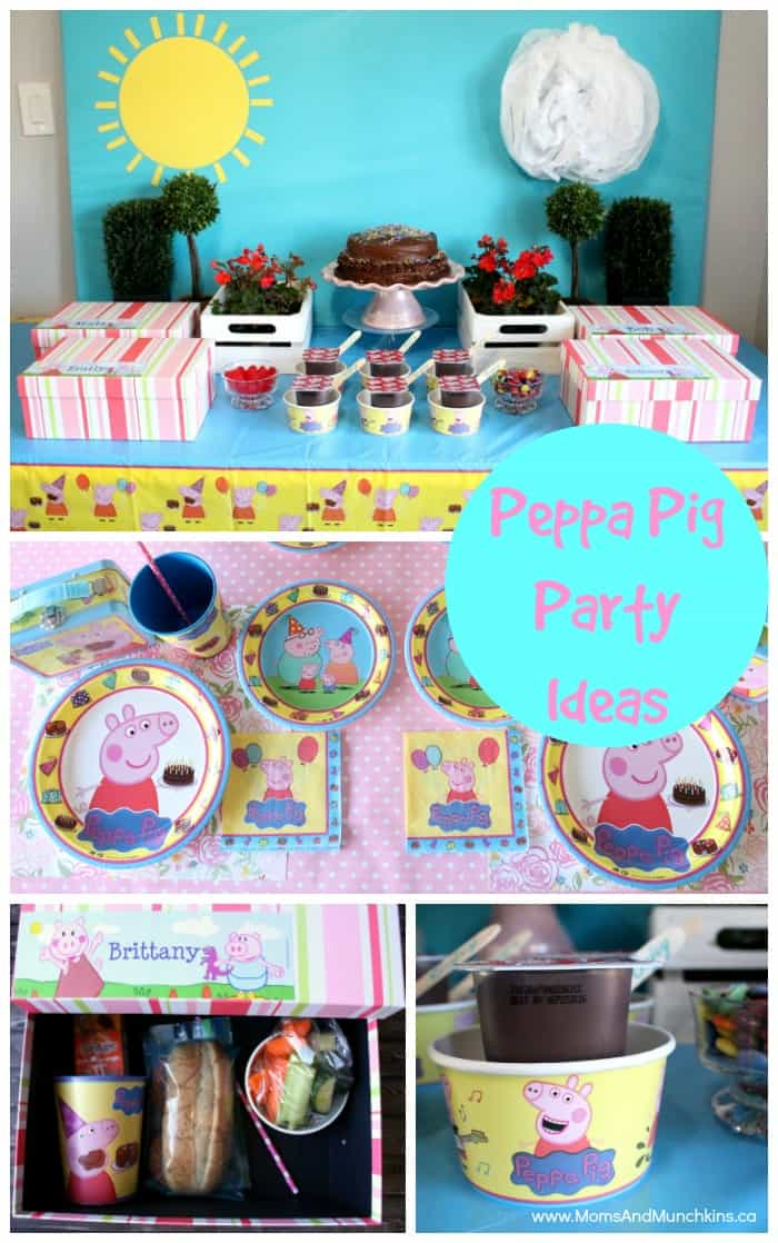 Peppa Pig Party Ideas