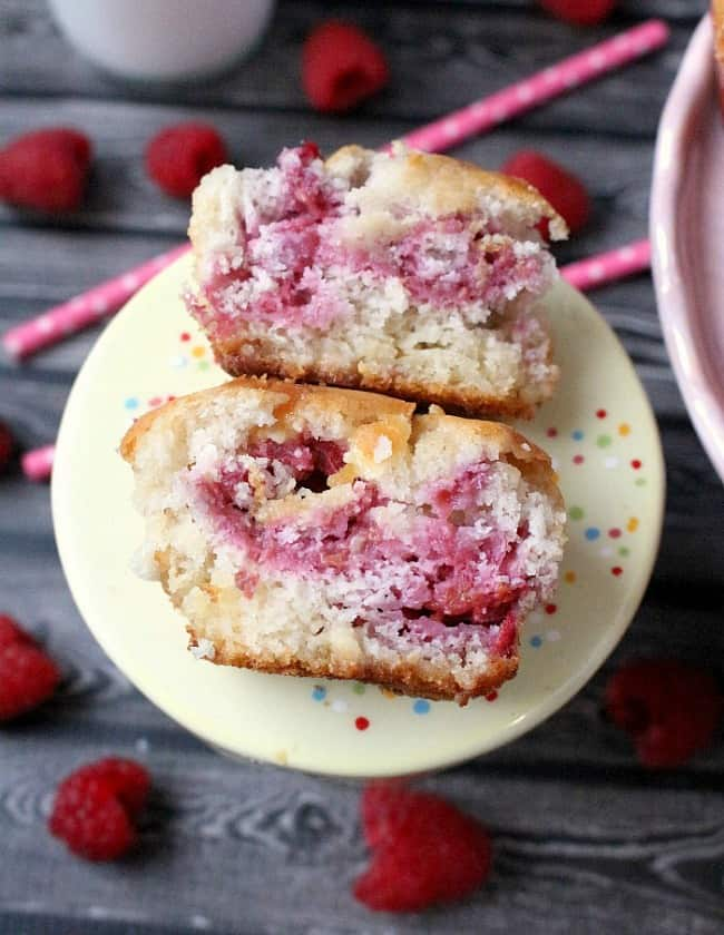 Raspberry White Chocolate Muffins Recipe