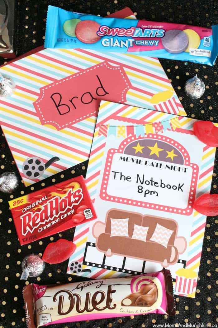 Movie Date Night Candy Bar Plus Free Printables Moms